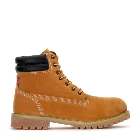 Levis Fremont Wheat Boots Mens
